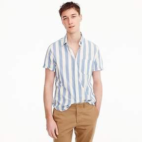 J.Crew Short-sleeve Indian madras shirt in stripe