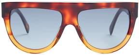 Celine Shadow aviator D-frame acetate sunglasses