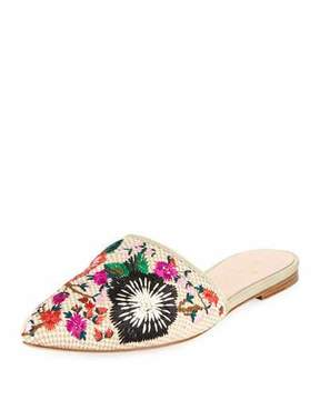 Kate Spade Monteclair Embroidered Flat Mule