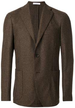 Boglioli woven single breasted jacket