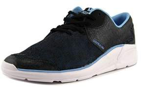 Supra Noiz Round Toe Leather Sneakers.