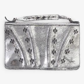 Calleen Cordero Calleen Cordero Rena Clutch Wallet Silver