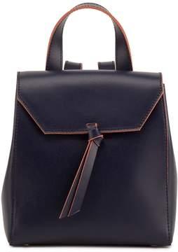 Alexandra de Curtis Hepburn Mini Backpack Navy Blue