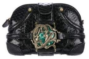 Alexander McQueen Python Dragon Box Clutch