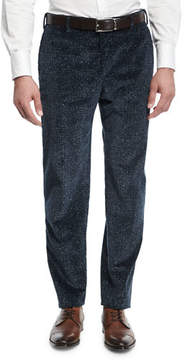 Zanella Donegal Plaid Corduroy Pants