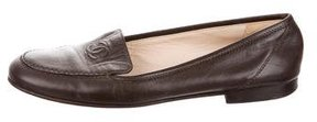 Chanel Leather CC Loafers