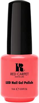 Red Carpet Manicure Orange LED Gel Nail Polish Collection