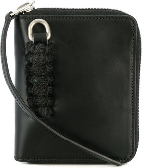 Rick Owens embroidered detail wallet