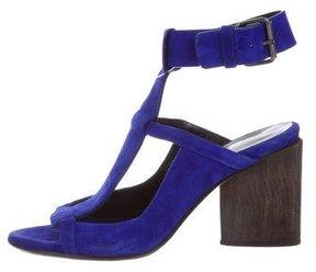 Zero Maria Cornejo Suede Ankle Strap Sandals