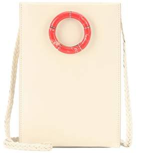 The Row Small Medicine Pouch leather shoulder bag