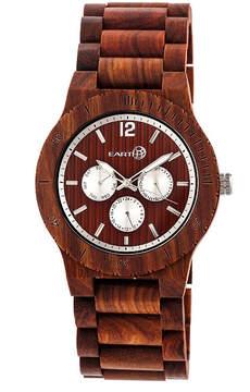 Earth Wood Unisex Red Bracelet Watch-Ethew5303