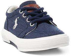 Ralph Lauren Toddler Faxon Ii Chambray Sneaker