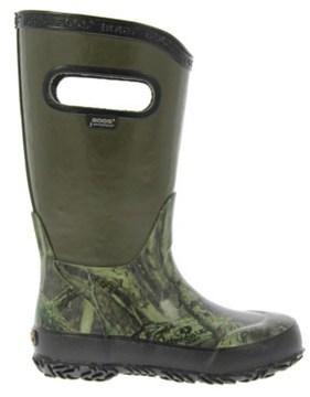 Bogs Kids' Hunting Waterproof Rain Boot Toddler/Pre/Grade School