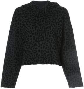 RtA leopard print hoodie
