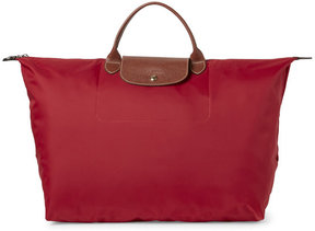Longchamp Red Le Pliage Travel Bag - RED - STYLE