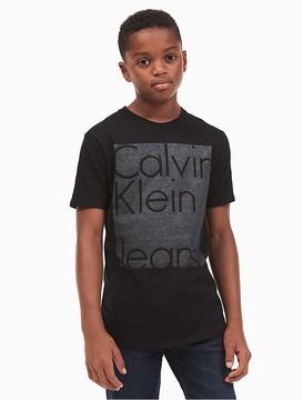 Calvin Klein Jeans Boys Block Logo T-Shirt