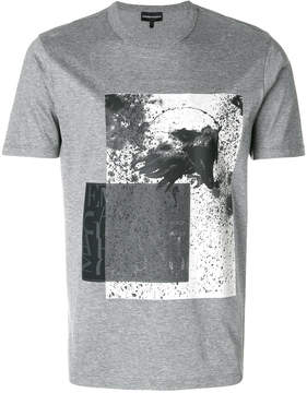 Emporio Armani Eagles print T-shirt