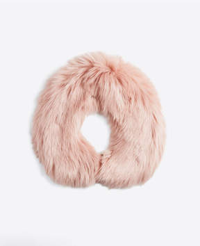 Ann Taylor Faux Fur Collar