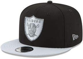 New Era Oakland Raiders Heather Pop 9FIFTY Snapback Cap