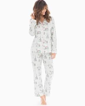 BedHead Knit Cotton-Blend Pajama Set Fifis Romance