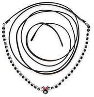 Disney Minnie Mouse Faux Leather Wrap Necklace by Danielle Nicole