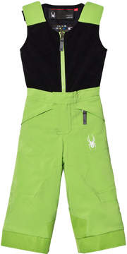 Spyder Green Colour Block Mini Expedition Boys' Trousers