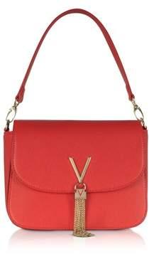 Mario Valentino Valentino By Women's Red Faux Leather Handbag