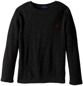 Polo Ralph Lauren Waffle-Knit Cotton T-Shirt Boy's T Shirt