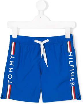 Tommy Hilfiger Junior logo stripe track pants