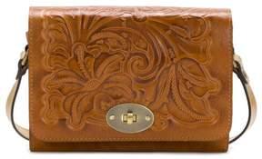 Patricia Nash Arga Leather Reversible Crossbody Bag