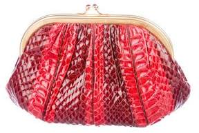 Judith Leiber Python Evening Bag