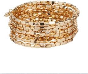 Anna & Ava Aileen Beaded Coil Bracelet