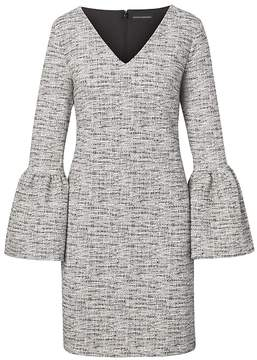 Banana Republic Print Bell-Sleeve Dress