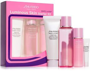 Shiseido 4-Pc. White Lucent Luminous Skin Starter Set