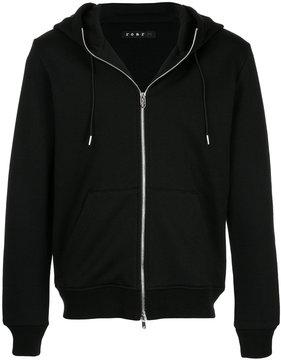 Roar logo print hoodie