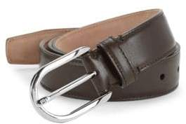 Bally Greywall Leather Belt