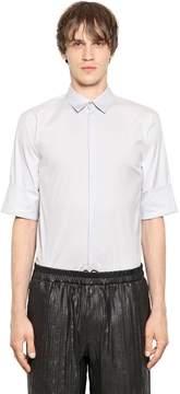 Jil Sander Stretch Cotton Blend Poplin Shirt