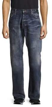 PRPS Cotton Faded Denim Pants
