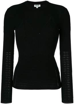 Kenzo crew neck fitted sweater