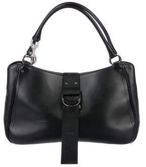 Christian Dior Embellished Leather Handle Bag