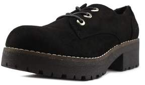 Coolway Cherblu Women Round Toe Canvas Oxford.