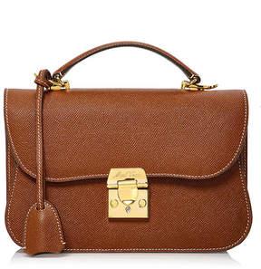 Mark Cross Dorothy Saffiano Leather Bag