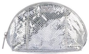 D&G Metallic Leather Cosmetic Bag