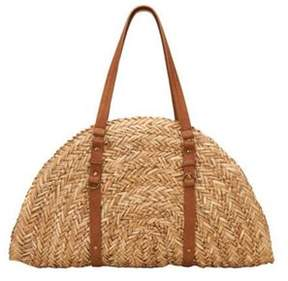 San Diego Hat Company Women's Woven Straw Bag Bsb1358.