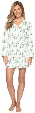 BedHead Long Sleeve Shorty Pajama Set