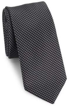 Saks Fifth Avenue MODERN Zig-Zagged Tie