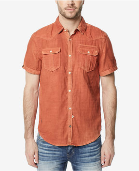Buffalo David Bitton Men's Dual-Pocket Denim Shirt
