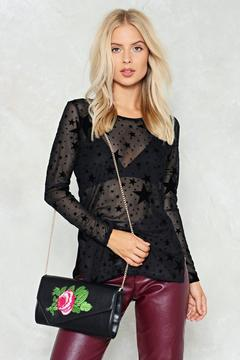 Nasty Gal nastygal WANT Kiss From a Rose Crossbody Bag