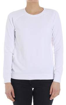 Sun 68 Women's White Cotton Sweatshirt.