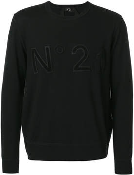 No.21 logo sweatshirt